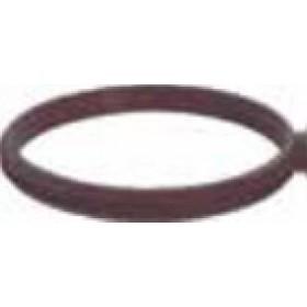 Guarnizione per tubi stufa a pellet in silicone diametro cm. 8 - impianto riscaldamento casa