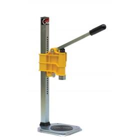 Turabottiglie Tappatrice a colonna regolabile per tappi corona 26 mm