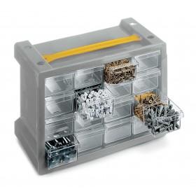Cassettiera portaminuteria TERRY a 16 scomparti Mod POKER