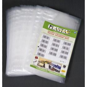 Buste goffrate nylon cm 15x20 sacchetti sottovuoto 40 conf da 25 pezzi