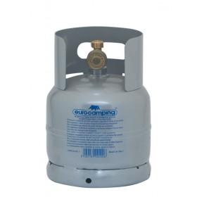 Bombola per gas liquido completa di rubinetto capacità Kg 2