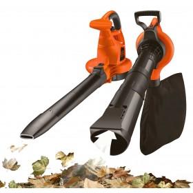 Aspiratore Soffiatore elettrico Black&Decker potenza 3000 W sacco da 50 l Mod. GW 3030 - casa giardino prato