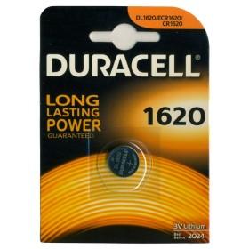 Batteria DURACELL a bottone 1620 mm 16x2 confezione 10 blister