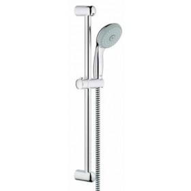 Saliscendi per doccia a tre getti cm. 60 completo di portasapone - Grohe Mod. New Tempesta