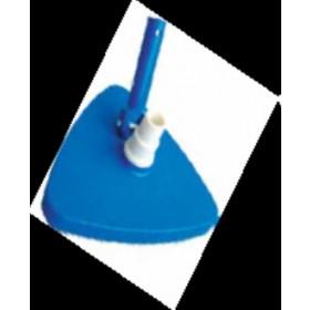 Aspiratore per fondo piscina con contrappeso in sabbia e manico girevole per tubi ø 32 - 38 mm