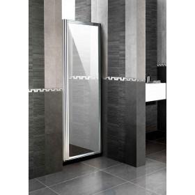 Parete fissa per doccia in cristallo 6 mm ad estensione regolabile cm 84/90 - box arredo bagno