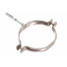 Collare per tubi stufa in acciaio inox diametro cm. 13 - impianto riscaldamento casa
