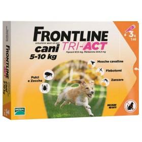 FRONTLINE TRI-ACT Cani e gatti kg 5/10 conf 3 pipette SPOT-ON