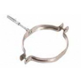 Collare per tubi stufa in acciaio inox diametro cm. 25 - impianto riscaldamento casa