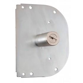 Cilindro chiave radiale CR per serrature piastra arrotondata Art K55