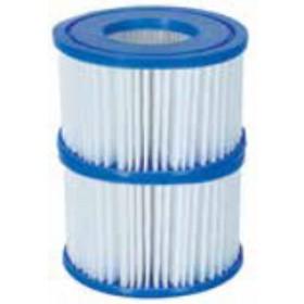 Filtro per pompa Bestway Mod. 58323 per piscine idromassaggio conf. 2 pz - arredo giardino piscina