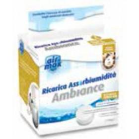 Airmax Ambiance sali incanto d' oriente conf. 1 ricarica tab da 100 g - assorbi umidità casa