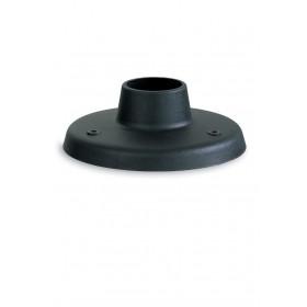 Base resina antiurto nera diametro cm 20 per lampioni SFERA