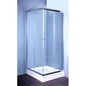 Cabina doccia in cristallo 5mm - Mod. IGLO cm. 70x70 - box arredo bagno