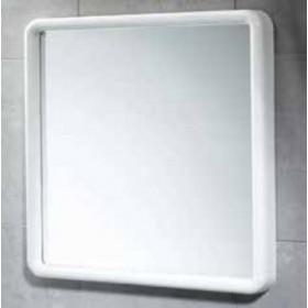 Specchio bianco Gedy cm. 45x45 - arredo bagno