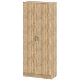 Armadio Scarpiera a 2 ante e ripiani interni Tvilum colore bianco cm. 69.2x34.6x175.4h - arredo casa mobile bagno