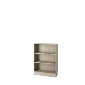 Libreria modulare in kit 3 vani Tvilum rovere chiaro cm. 79x26.7x107.2 - arredo casa ufficio