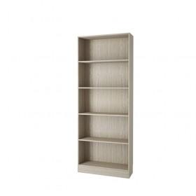 Libreria modulare in kit 5 vani Tvilum rovere chiaro cm. 79x26.7x203.2 - arredo casa ufficio