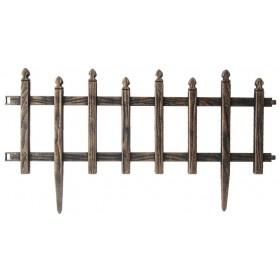 Steccato ABS colore nero dimensioni cm 47.5x36h sistema componibile