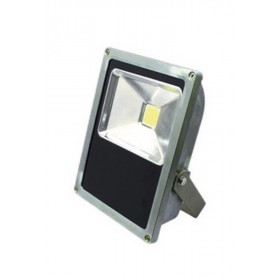 Proiettore LED 15W orientabile in metallo mm 130x60x170h IP 65 1130 lumen