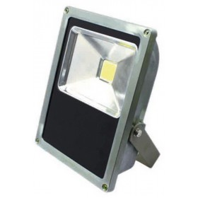 Proiettore LED 35W orientabile in metallo mm 190x80x250h IP 65 2500 lumen