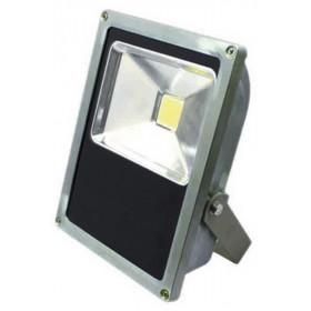 Proiettore LED 50W orientabile in metallo mm 190x80x250h IP 65 3700 lumen