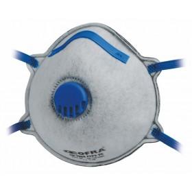 Mascherina di protezione COFRA carboni attivi 12 pz FFP2 Mod M010-K023