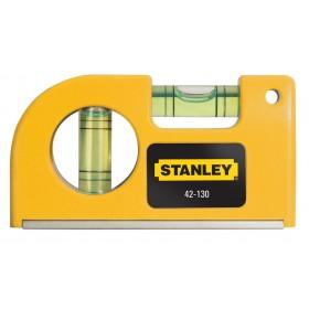 Livella tascabile 2 bolle STANLEY base magnetica Art 0-42-130