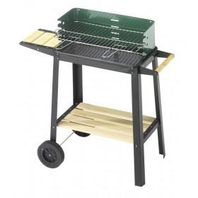Barbecue struttura acciaio regolabile 4 posizioni Mod 50-25 GREEN W