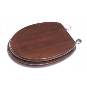 Coprivaso universale noce in legno laccato cm 37x45 - Mod. CLASSICO