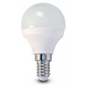 Lampadina LED risparmio energetico 5.3W E14 BEGHELLI SFERA luce calda 3000K