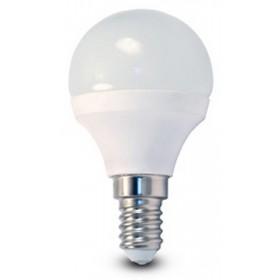 Lampadina LED risparmio energetico 5.3W E14 BEGHELLI SFERA luce fredda 6000K
