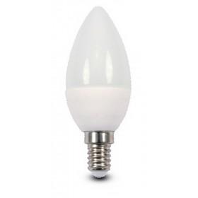 Lampadina LED risparmio energetico 5.3W E14 BEGHELLI OLIVA luce calda 3000K