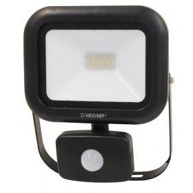 Proiettore LED 20W in alluminio con sensore infrarossi IP 54 1600 lumen