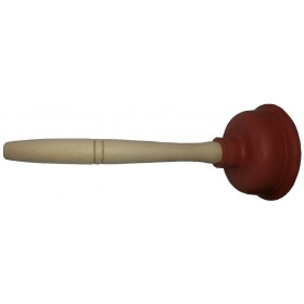 Sturalavandini a ventosa ø 150 mm con manico in legno