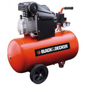 Compressore BLACK&DECKER serbatoio 50 l motore 2.0 HP Mod BD 205/50