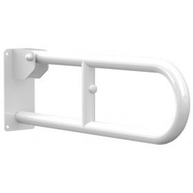 Barra ribaltabile da muro cm 30 acciaio laccato bianco Mod LUKAS