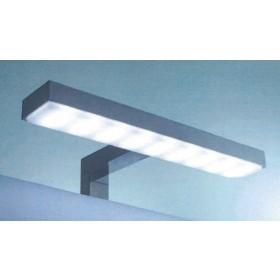 Applique da bagno lampada LED IP44 6W fissaggio diretto Mod EMILIA