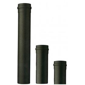Tubo per stufa a pellet ø cm 10 SAVE altezza cm 50 colore nero opaco