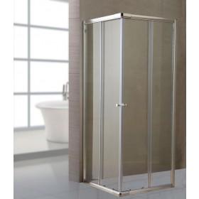 Box doccia cm 70x70 pareti in cristallo spessore 6 mm Mod LUSSO