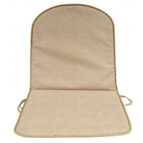 Cuscino con schienale tortora GEMITEX cm 80x42x2h conf 8 pz Mod DOUBLE