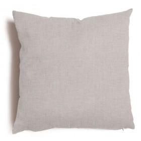 Cuscino decorativo salotto sfoderabile grigio cm 43x43 Mod TULIPANO