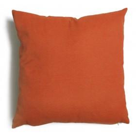 Cuscino decorativo salotto sfoderabile ruggine cm 43x43 Mod TULIPANO