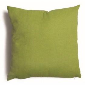 Cuscino decorativo salotto sfoderabile verde cm 57x57 Mod TULIPANO