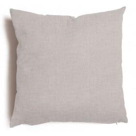 Cuscino decorativo salotto sfoderabile grigio cm 57x57 Mod TULIPANO