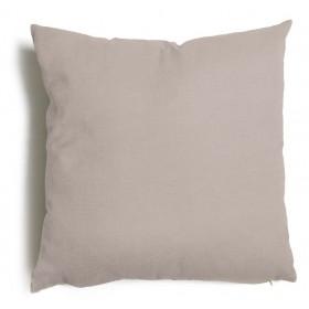 Cuscino decorativo salotto sfoderabile tortora cm 57x57 Mod TULIPANO
