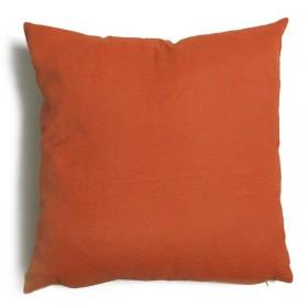 Cuscino decorativo salotto sfoderabile ruggine cm 57x57 Mod TULIPANO