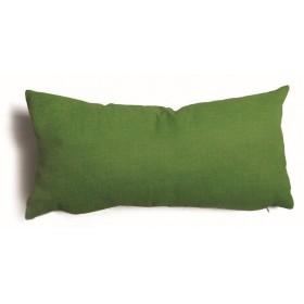 Cuscino decorativo salotto sfoderabile verde cm 30x60 Mod TULIPANO