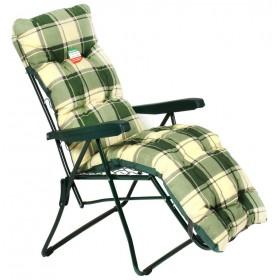 Sedia sdraio regolabile in 6 posizioni con poggiapiedi Mod 9010 CN