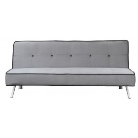 Divano letto tessuto grigio cm 180x83x79h Mod ELEGANT